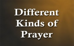 Matthew 7:7-11 'Different types of prayer - ask, seek, knock'