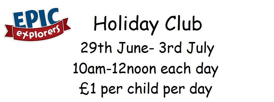 Holiday Club 2015